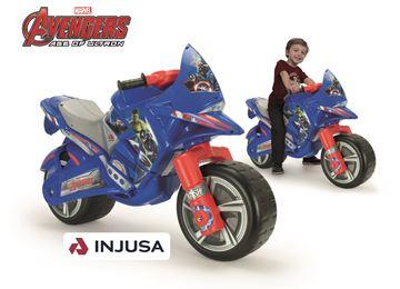 Imagen de Moto de Arrastre Avengers Injusa