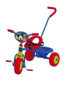 Imagen de Triciclo con guía Mickey Original Disney