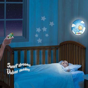 Imagen de Veladora musical de pared para bebes Molto